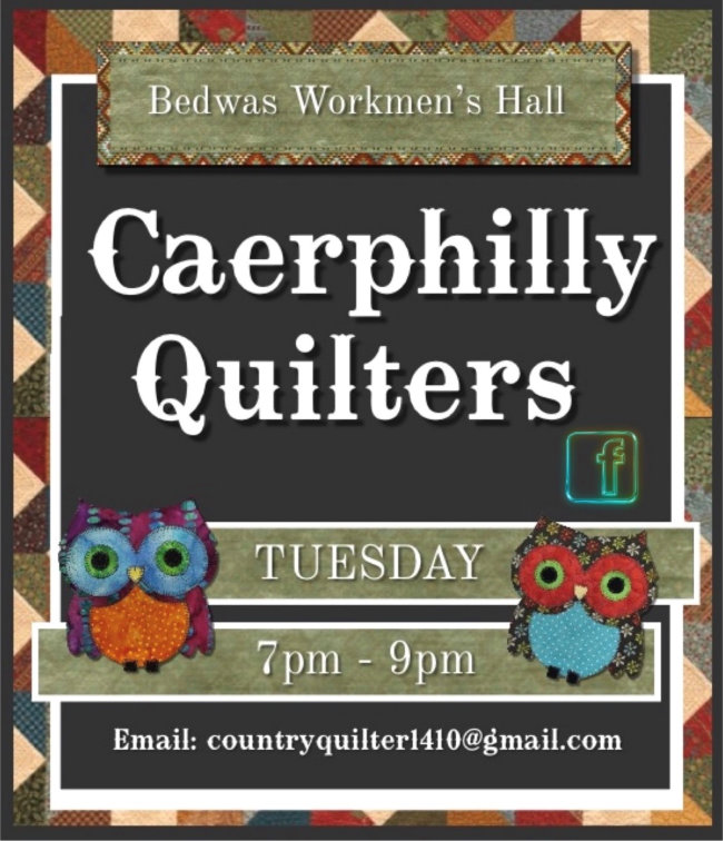 Quilting group at Bedwas Workmen's Hall