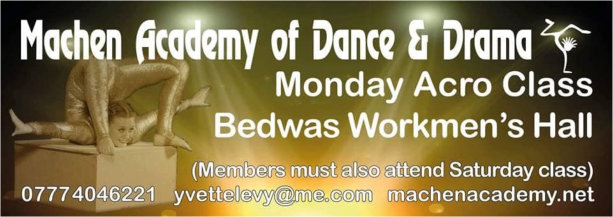 Machen Academy of Dance and Drama at Bedwas Workmen's Hall